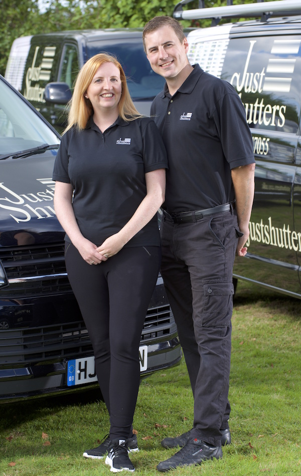 Hayley and Terry Lancaster - Just Shutters Essex-image