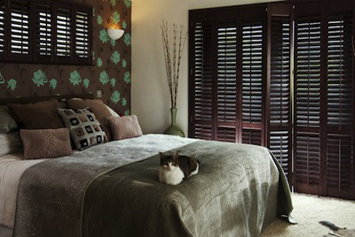 Window Plantation Shutters Wilmslow and Alderley Edge in bedroom