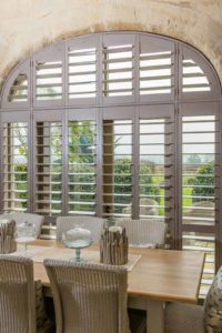 Buckley Plantation Shutters in large window