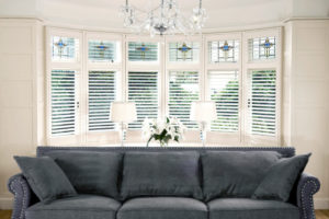 plantation shutters bucklers hard in lounge